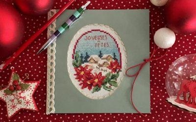 Carte de vœux «Joyeuses fêtes»